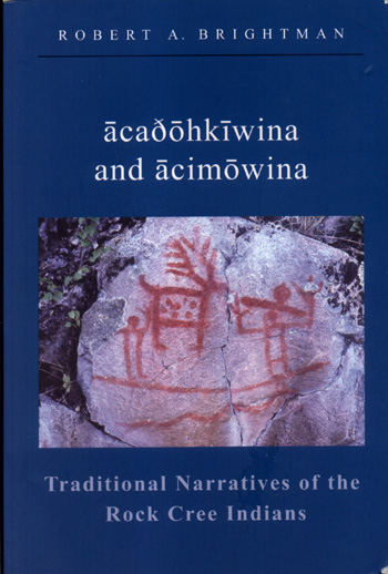 Traditional Narratives of the Rock Cree Indians Book Review cover