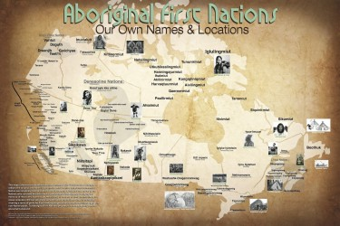 Update: Large scale Map of First Nations pre-European contact