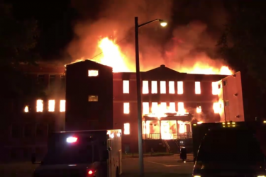 Red Crow Community College burned to the ground in an early morning fire Aug. 14