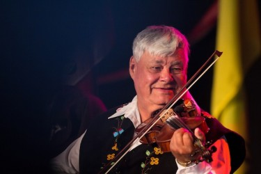 Fiddler John Arcand recognized for 60 years in the music business