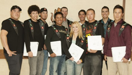 The Indigenous Line Crew Ground Support graduates