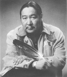 Elijah Harper photo from 1990