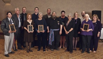 Winners of the Entrepreneurial Leadership Awards for the Métis Nation of Alberta