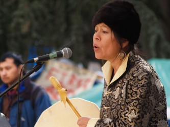 Kwitsel Tatel (Patricia Kelly), of Stó:lo nation in B.C., won her fight against