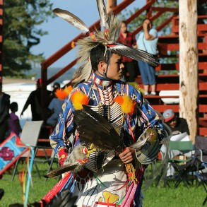 Dancer at Treaty Six Chief Transfer Ceremony - 2016